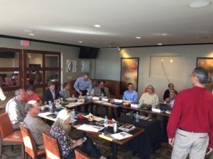 Vistage group meeting
